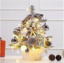CHICAI Bureau d'arbre de Noël Mini Arbre de