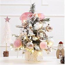 CHICAI Mini Arbre de Noël 17.7inch Tabletop arbre