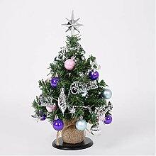 CHICAI Mini arbre de Noël 33cm, Décoration