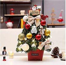 CHICAI Mini Arbre de Noël arbre de Noël