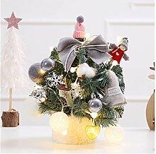 CHICAI Mini table d'arbre de Noël mignon de