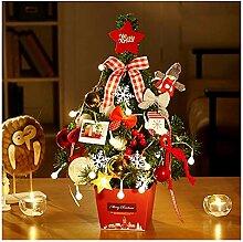 CHICAI Tabletop arbre de Noël artificiel 17.7
