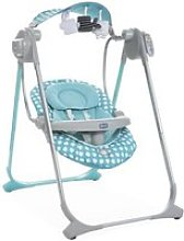 Chicco balancelle swing up turquoise
