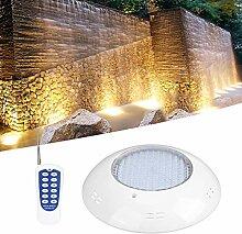 CHICIRIS Éclairage sous-Marin LED 30W, 300 LEDs