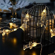 Chickwin Guirlande Lumineuse Décoration,