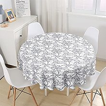 Chickwin Nappe Ronde en Polyester Anti Tache