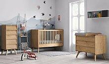 Chiffonnier chambre bébé 5 tiroirs - Vintage Vox
