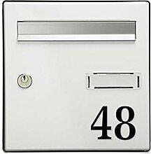 Chiffre adhésif 7 cm pour boite aux lettres -
