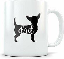 Chihuahua papa tasse - cadeau mignon pour les