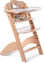 CHILDHOME Chaise haute bébé 2 en 1 Lambda 3