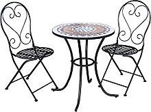 Chillvert Salon de Jardin Bistrot Table 2 Chaises