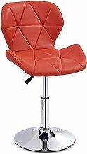 CHINA-Tabouret Chaise rouge de salle à manger de