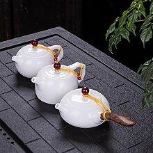Chine porcelaine blanche mouton graisse jade haute
