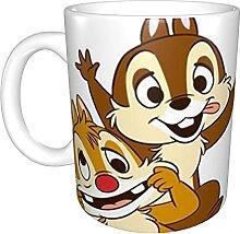 Chip and Dale Tasse à café pour cappuccino,