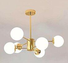 CHNOI Lustre moderne lustre salon chambre plafond