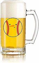 Chope de bière en verre Maison, restaurant, fête
