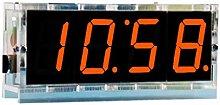 Chou 1pc Horloge Digitale DIY,Thermomètre LED