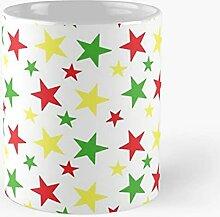 Christmas Art White - White Ceramic 11 Oz Coffee