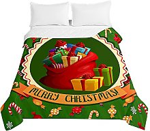 Christmas Couvre Lit Matelassée, Chickwin Noël