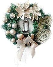 Chytaii Couronne avec Clochette Boule Noël