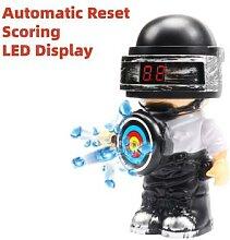 Cible de poupée électrique à réinitialisation