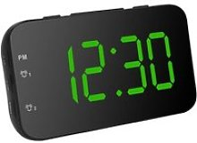 Cikonielf Réveil LED Horloge de Bureau Portable