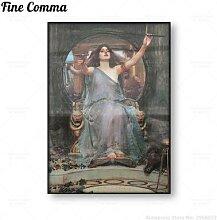 Circe – affiche de Reproduction de peinture