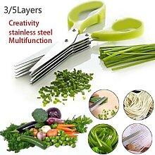Ciseaux à épices en acier inoxydable, 3