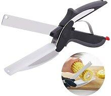 Ciseaux à légumes de cuisine domestique, couteau