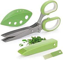 Ciseaux pour gadgets de cuisine avec hachoir et