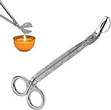 Ciseaux pour mèche de bougie à tête ronde,