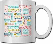 Citations de filles d'or tasse à café tasse