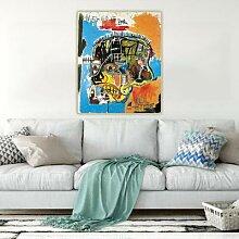 Citon Jean michelle Basquiat – peinture à