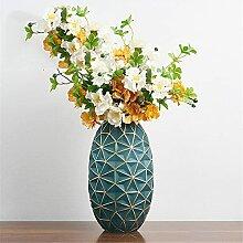 CJDM Vases à Fleurs en Verre, Vase géométrique