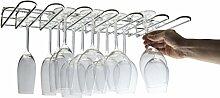 CKB Ltd® Porte-verres mural ou installable sous