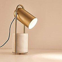 Ckssyao Lumières de table Lampe de table or