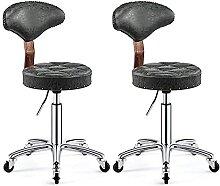Classique Chaises de barre pivotante réglable en