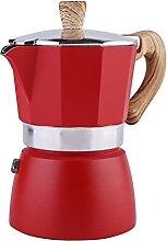 Classique Style Italien Moka Espresso Pot pour 3/6