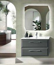CLEIDE base 80 modern suspended bathroom cabinet