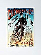 Clément tricycles Bicyclettes Rue Brunel Paris