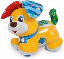 Clementoni baby - bibou, le chien qui fait coucou
