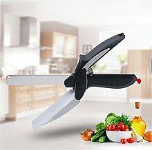 Clever Cutter Ciseaux de cuisine avec planche à