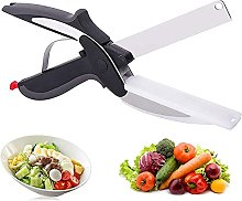 Clever Cutter - Hachoir 2 en 1 - Coupe-légumes