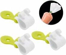 Clip de sac à pâtisserie, 3 pièces accessoire