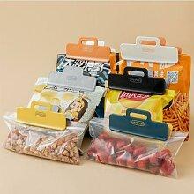 Clip de scellage de sac de nourriture, accessoires