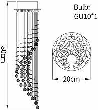 CLJ-LJ Escalier moderne Crystal Crystal Spiral