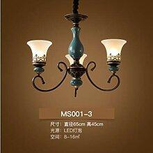 CLJ-LJ Français style antique LED céramique
