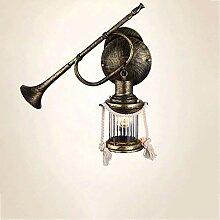 CLJ-LJ HAUT GOÛT Vintage Bronze Applique Loft