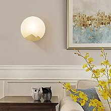 CLJ-LJ Lampe murale de luxe en marbre pour salon,