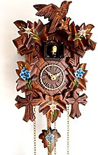 CLOCKVILLA HETTICH-UHREN Horloge coucou sculptée